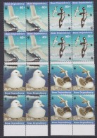 Ross Dependency 1997 Sea Birds WWF 4v  Bl Of 4 ** Mnh (33889D) - Ross Dependency (Nieuw-Zeeland)