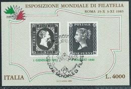 Italia 1985 Usato - Penny Black BF.1; Annullo 1°Giorno - 6. 1946-.. Repubblica