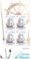 Spain 1995 Barcos De Espana Souvenir Sheet MNH/**  (G30) - Ships