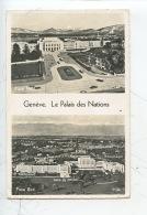Suisse - Genêve : Le  Palais Des Nations (multivues Façade Sud Et Nord) - GE Geneva