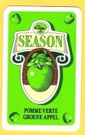 Dos De Carte : Season Pomme Verte Groene Appel Savon Lessive - Cartes à Jouer Classiques
