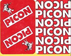 2 Dos De Carte : Picon Apéro Apéritif Spiritueux Boisson Amer - Cartes à Jouer Classiques