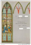 Brazil 1992: Neo-Gothic Stained Glass - Religious Art - Aerogram - Used - Christianisme