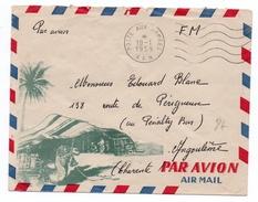1959 - ENVELOPPE ILLUSTREE FM Avec MECA POSTES AUX ARMEES A.F.N - Bolli Militari A Partire Dal 1940 (fuori Dal Periodo Di Guerra)