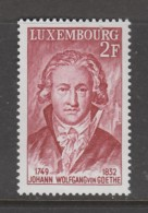 TIMBRE NEUF DU LUXEMBOURG - JOHANN WOLFGANG VON GOETHE N° Y&T 891