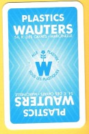 Dos De Carte : Plastic Wauters Marcinelle Plastique - Kartenspiele (traditionell)