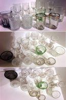 12 VERRES A LIQUEUR VINTAGE - BISTRO - GOUTTE -moulés, Soufflés Etc.. - Glasses