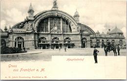 Allemagne - HESSE - FRANKFURT - Hauptbahnhof - Gruss Aus. - Frankfurt A. Main