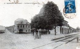 Cpa   Apremont La Gare  Et  Grande  Rue - Altri Comuni