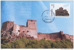 Spain Maxicard – España Tarjeta Maxima Con Sello Personalizado (Tu Sello) Del Castillo De  Luna - Alburquerque (Ba - Castelli