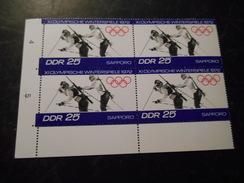 DDR 1972 Olympia Randstücke / DV /  Farbskala/ Bogennummern Postfrisch - [6] Democratic Republic