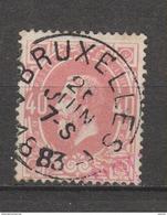 COB 34 Oblitéré BRUXELLES 7 - 1869-1883 Léopold II