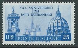 1959 ITALIA PATTI LATERANENSI MNH ** - P26-9 - 1946-60: Mint/hinged