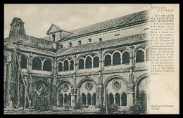 ALCOBAÇA - Um Dos Claustro Do Mosteiro ( Cliché J. S. Tavares Nº 3) Carte Postale - Leiria