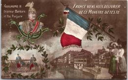 MILITARIA - PATRIOTISME - France Vient Nous Délivrer De Ce Monstre - Patriotiques