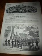 1868 UNIL: Policemen à Londres (London);Arsenal De Woolwich;ICELANDE;Castellamare(Naples);VIENNE;Cordoue;BUDE(Hongrie); - Journaux - Quotidiens