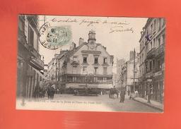 * CPA..dépt 76..DIEPPE  : Rue De La Barre Et Place Du Puits Salé  : Voir 2 Scans - Dieppe