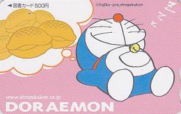 Carte Prépayée Japon - BD COMICS MANGA - CHAT DORAEMON - CAT ANIME Japan Movie Tosho Card - KATZE - 3507 - BD