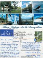 Albury – Wodonga, NSW, Australia Postcard Posted 2010 Stamp - Albury