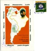 BRASIL  BRASILE  RORAIMA Campo Missionario Giovani Di Treviso  Nice Stamp 100 Years FIFA Calcio - Brasile