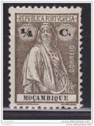 Portugal, Mozambique, 1912, Ceres 1/4c, MH - Mozambique