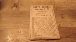 71/ CARTES TARIDE N° 5 BRETAGNE ANNEE 20? - Cartes Routières