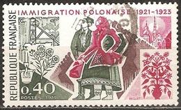 France - 1973 - Immigration Polonaise - YT 1740 Oblitéré
