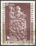 France - 1973 - Boiseries Du Moutier D'Ahun - YT 1743 Oblitéré