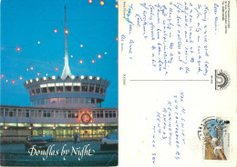Ferry Terminal, Douglas, Isle Of Man Postcard Posted 1984 Stamp - Insel Man