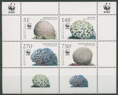 Niederländische Antillen 2005 WWF: Korallen 1401/04 ZD Postfrisch (C72253) - Curacao, Netherlands Antilles, Aruba