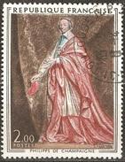 France - 1973 - Cardinal De Richelieu Par Philippe De Champaigne - YT 1766 Oblitéré