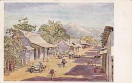 El Salvador San Salvador Una Calle De Pueble Street Scene - El Salvador