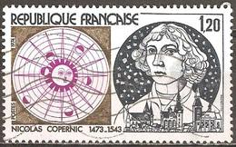 France - 1974 - Nicolas Copernic - YT 1818 Oblitéré