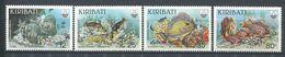 183 KIRIBATI 1985 - Yvert 130/33 - Recif Poisson - Neuf ** (MNH) Sans Trace De Charniere - Kiribati (1979-...)