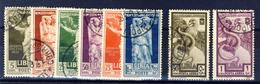 1938 - Libia Augusto Serie Completa Usata - Libyen