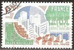 France - 1975 - Villes Nouvelles - YT 1855 Oblitéré