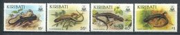 183 KIRIBATI 1987 - Yvert 172/75 - Reptile Lezard - Neuf ** (MNH) Sans Trace De Charniere - Kiribati (1979-...)