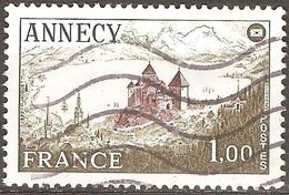 France - 1977 - Fédération Des Sociétés Philatéliques Françaises à Annecy - YT 1935 Oblitéré