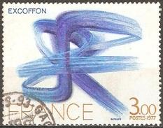 France - 1977 - Oeuvre Originale D'Exocoffon - YT 1951 Oblitéré