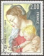 France - 1977 - Vierge à L'enfant - YT 1958 Oblitéré