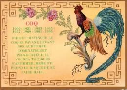Coq - Horoscope Chinois - Animaux & Faune