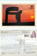 Gijon, Asturias, Spain Postcard Posted 2001 Stamp - Asturias (Oviedo)