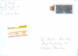 Bund USo13 AII Umschlag EINSCHREIBEN Bad Salzuflen 2000 - Muziek