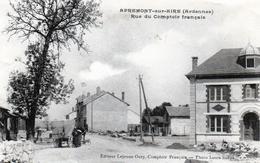 Cpa Apremont-sur-aire  Rue Du Comptoir Francais - Altri Comuni