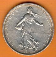 Nu-France -Semeuse, 5 Francs Argent, 1964 - France