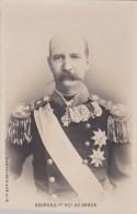 CPA : Portrait De Georges 1er Roi De Grèce  SIP N° 10 - Célébrités