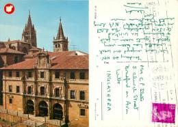 Oviedo, Spain Postcard Posted 1981 Stamp - Asturias (Oviedo)