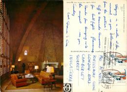 Parador Nacional, Jaen, Spain Postcard Posted 1983 Stamp - Jaén