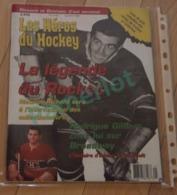 Hockey Canada -Les Héros Du Hockey La Legende Du Rocket, Liste Des Prix Complete Des Cartes De Hockey, 1998, 82 Pages - Hockey - NHL