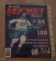 Hockey Canada - Edition Commémorative , Maurice Rocket Richard 84 Pages, + De 100 Photos - Hockey - NHL